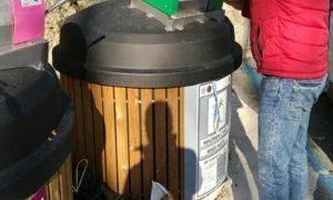 poluukopani spremnici smeće