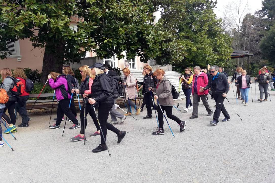 nordijska šetnja
