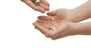 sufinanciranje, novac, donacija