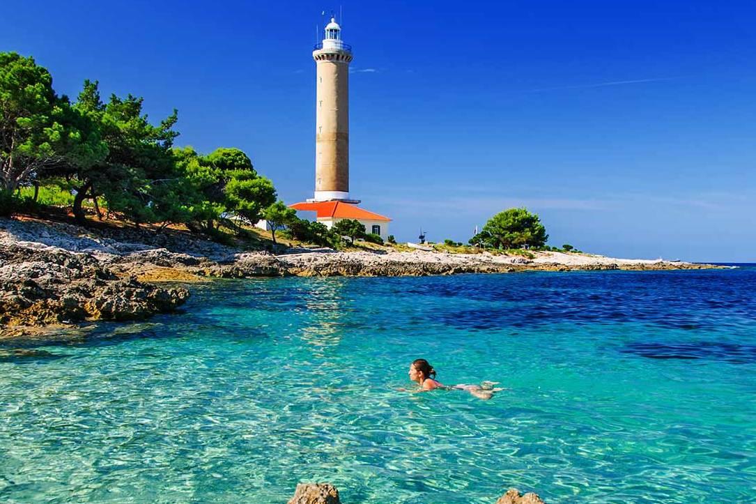 turizam, odmor, hrvatska, more, svjetionik