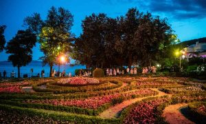 angiolina park opatija noć