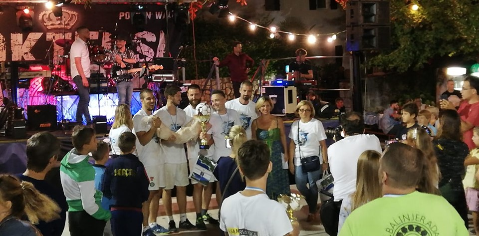 Pobjednička ekipa – Brseč