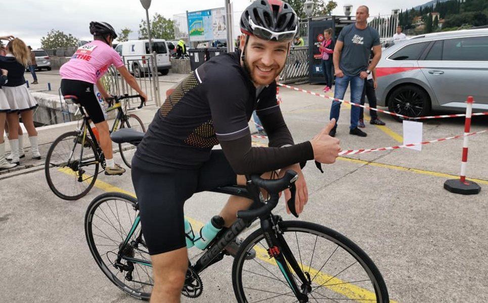king of učka , biciklist