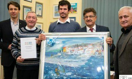 Foto Luigi Opatija, Grad Opatija, Prijem Enrico Marotti dec2019