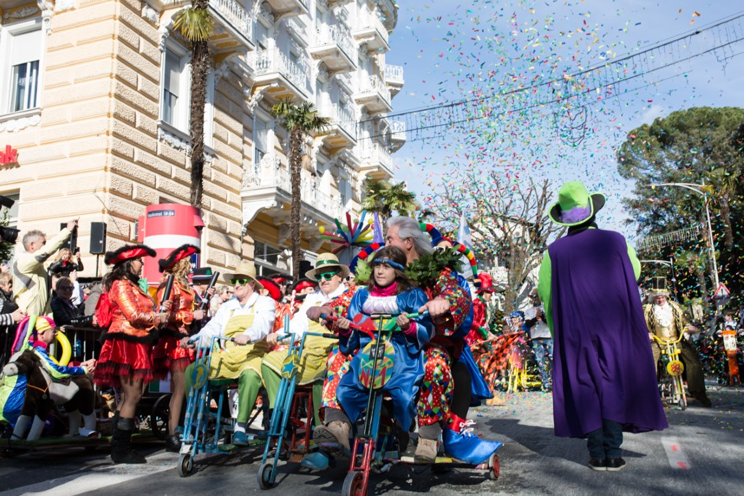 Foto Luigi Opatija, Karneval 2018, Grad Opatija, Balinjerada Opa