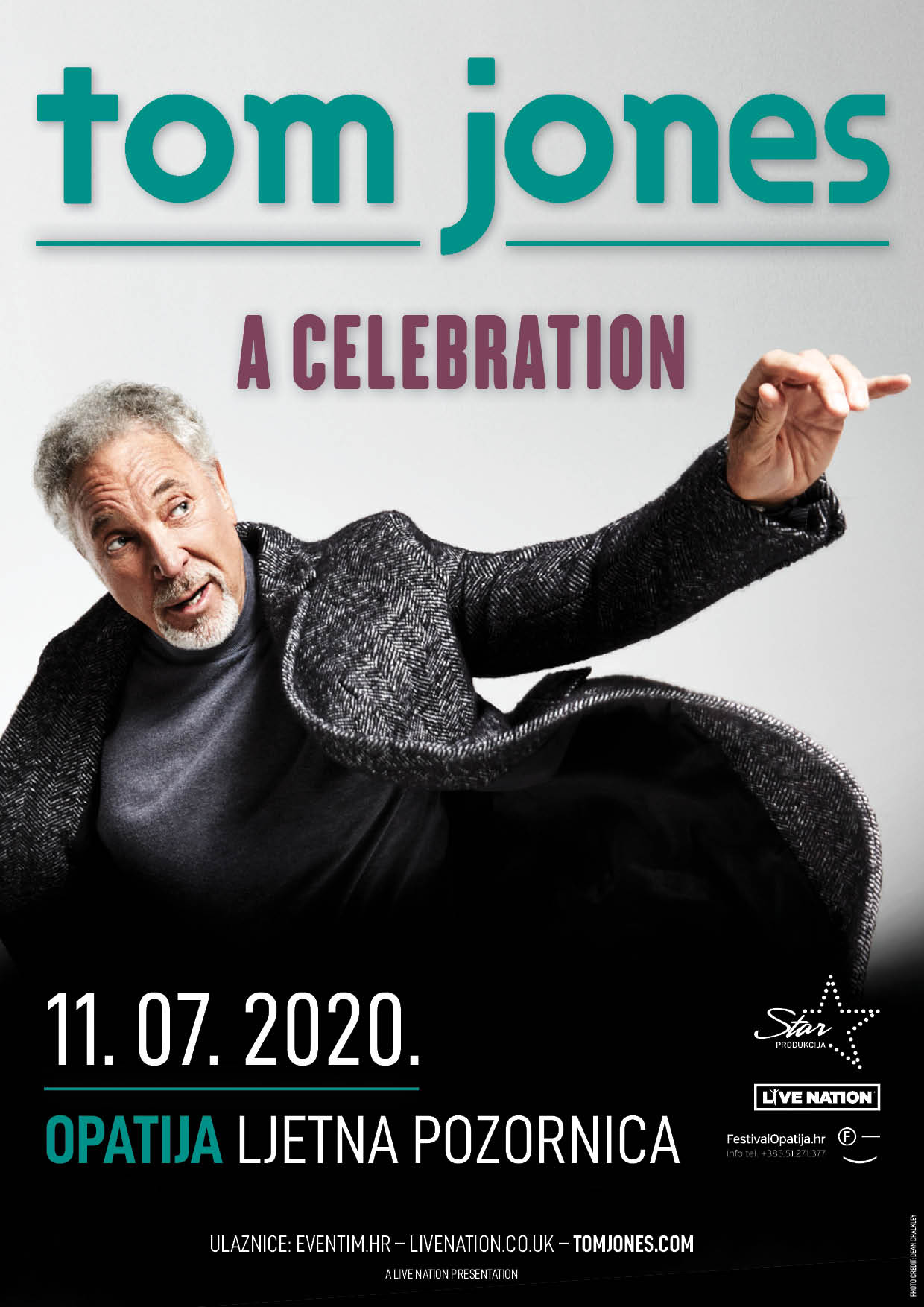 Tom Jones 2020