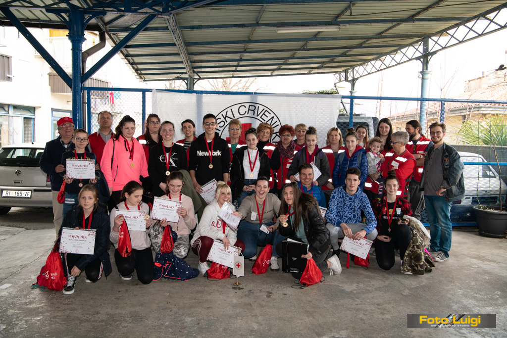 Foto Luigi Opatija, Crveni križ Opatija, Natjecanje prva pomoć
