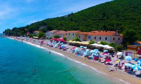 Mošćenička Draga plaža