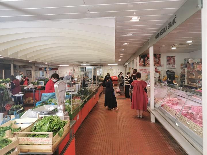 Smiljan Prpić ribarnica tržnica