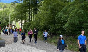 platak, nordijsko hodanje, planinari