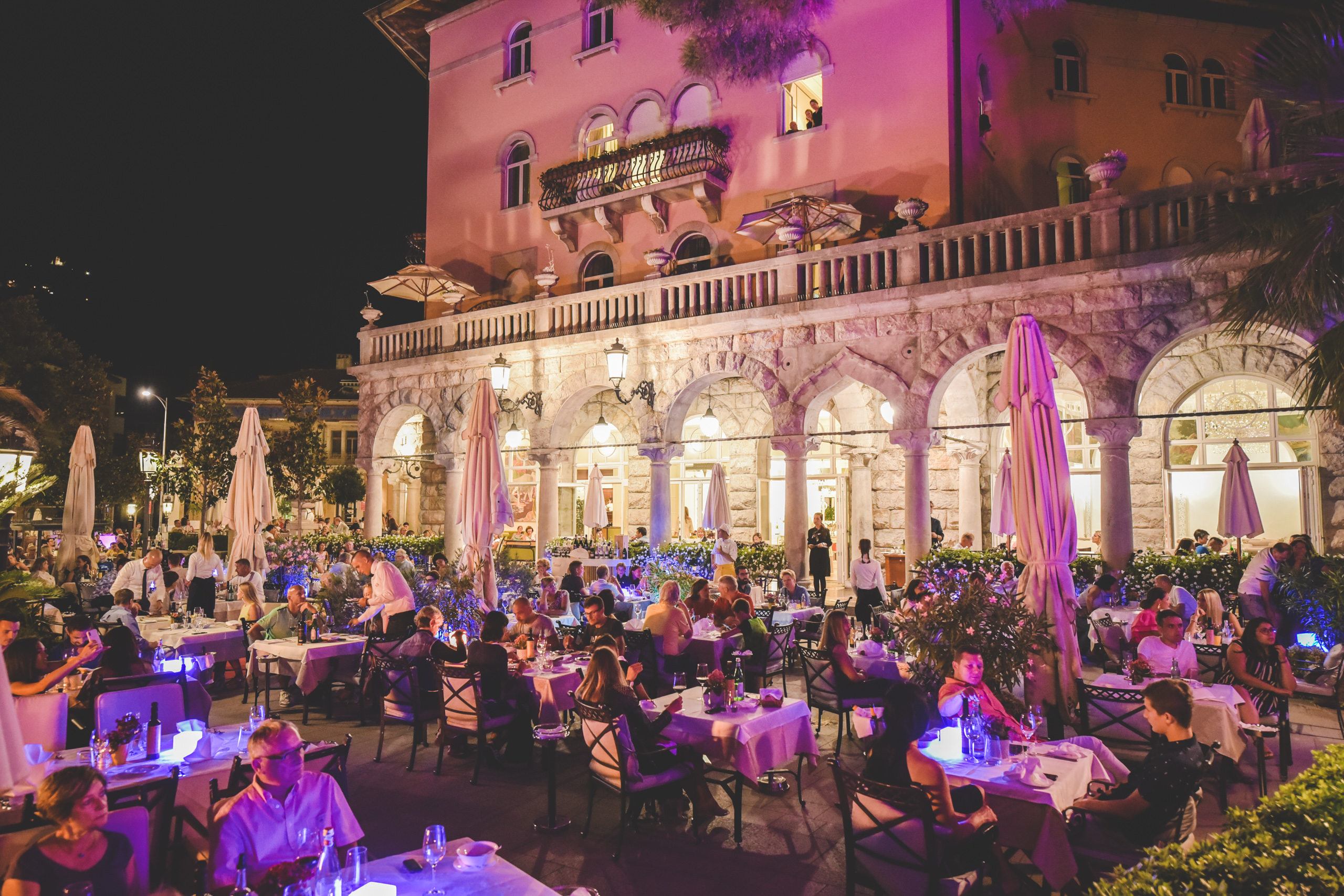 Terasa hotela Milenij