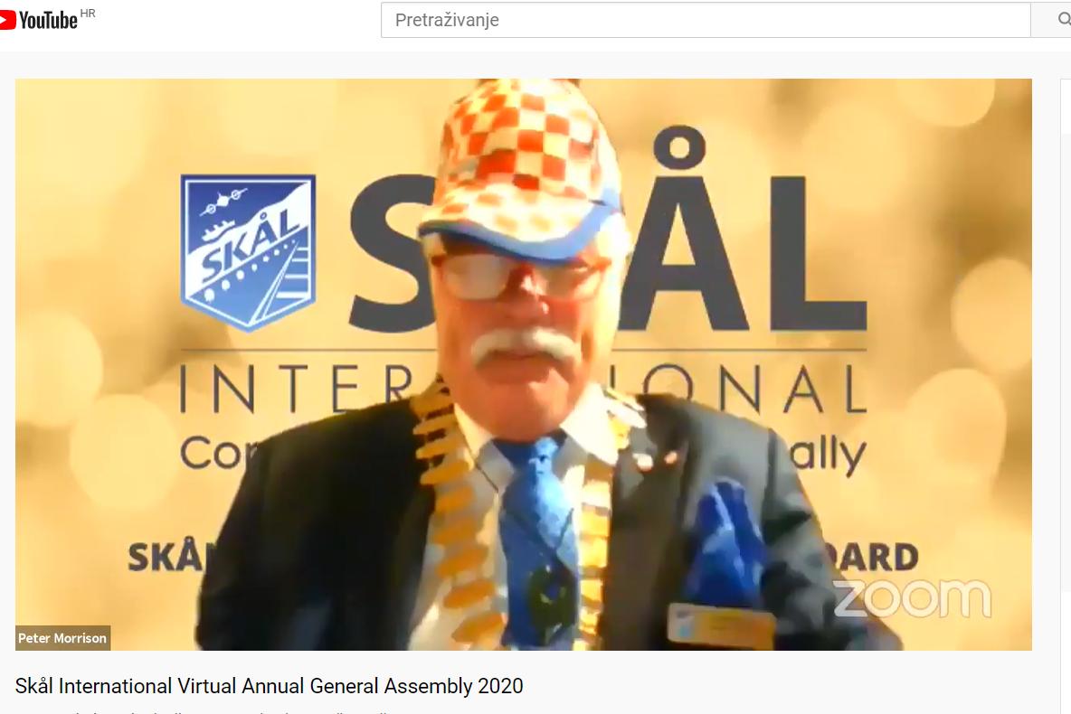 Peter Morris presjednik Skal International