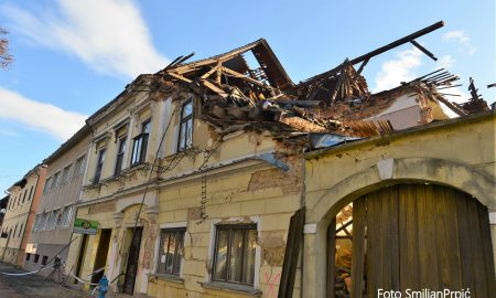 Petrinja potres foto Smiljan Prpić