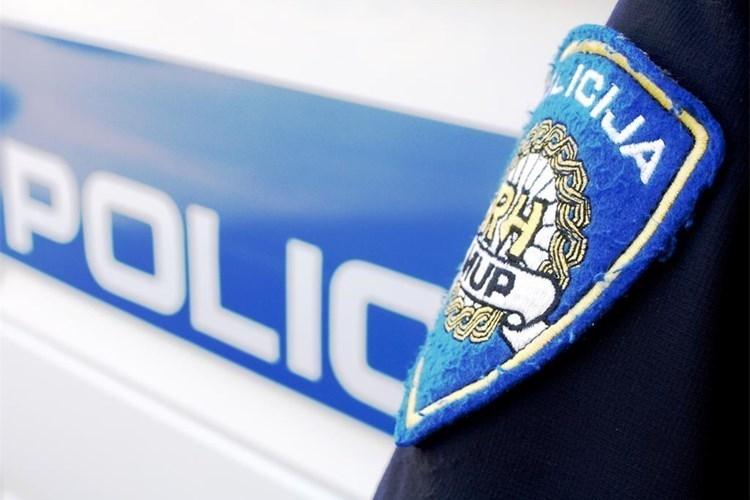 policija natpis
