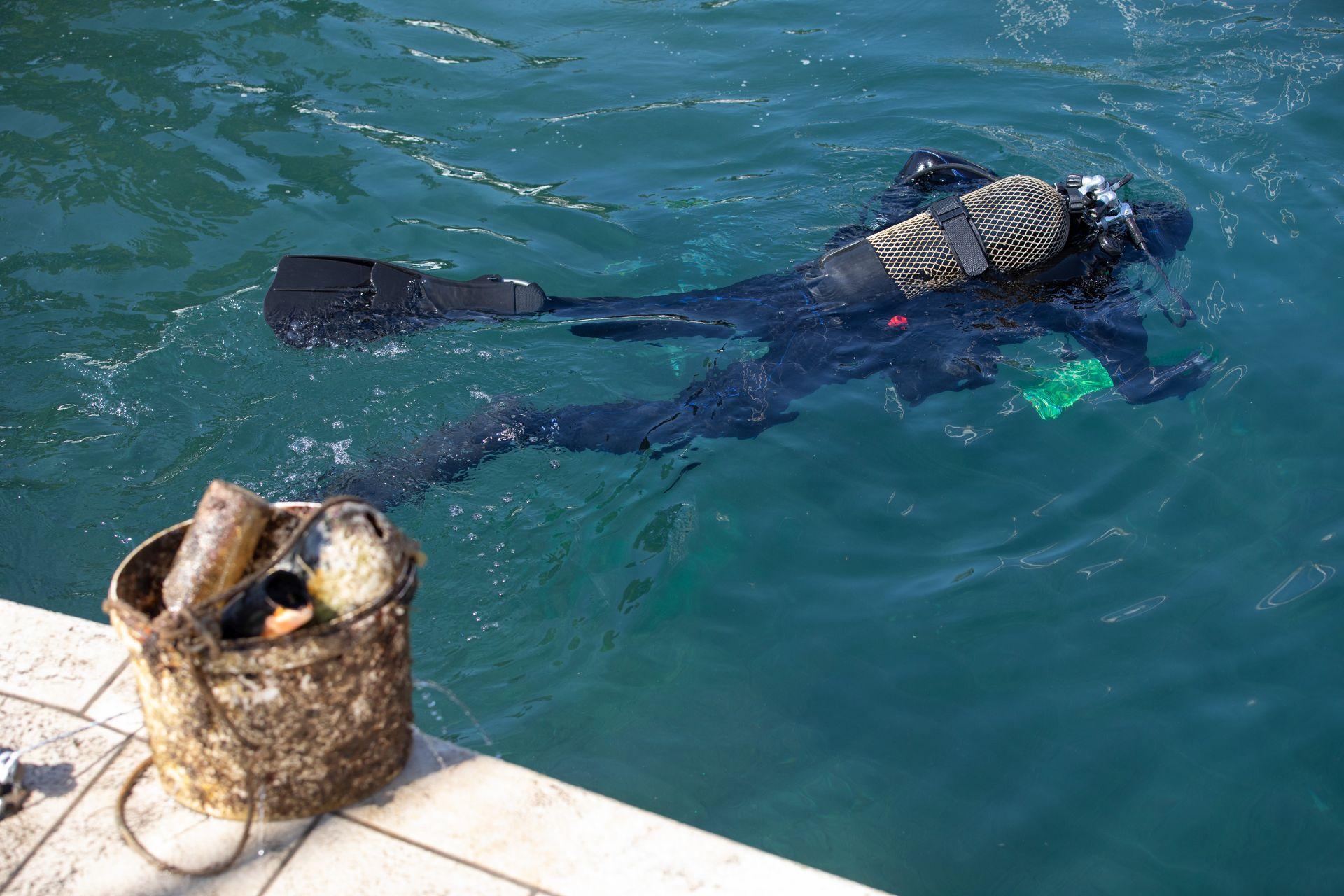 ronioc čišćenje podmorja